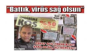 ESNAF ACİL FRENE BASTI ŞAKA DEĞİL, ACI GERÇEK!!!