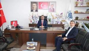 Mehmet Özkan'da Başkan Erdoğan'a Hayırlı Olsun Ziyareti