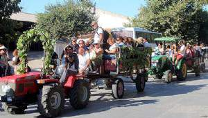 Bozcaada'da Bağbozumu Festivali başladı (VİDEO)