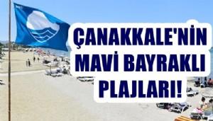 Çanakkale'de 12 plaja mavi bayrak!
