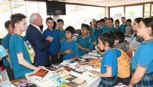 Başkan Yılmaz, Kitap fuarını gezdi (VİDEO)