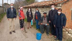 ''Köy köy, kapı kapı dolaşıp herkese dokunmaya çalışıyoruz''