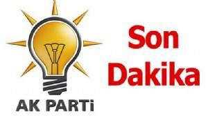 AK Parti'ye yeni başkan
