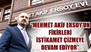 Ak Partili Turan'dan Mehmet Akif Ersoy'u Anma Haftası mesajı