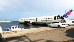 Dev yolcu uçağı, Saros Körfezi'ne batırılacak