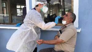 Çanakkale'de PCR testleri başladı