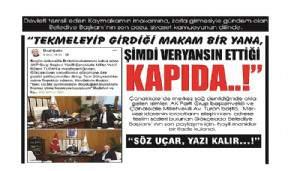 """""""SÖZ UÇAR, YAZI KALIR…!"""""""