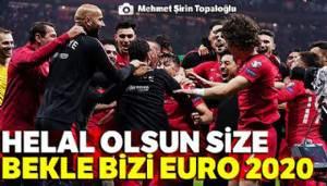 Milli Takımımız EURO 2020 biletini aldı! - Türkiye: 0 - 0 İzlanda (Maç sonucu)