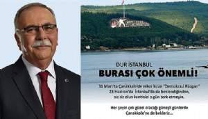 """""""Peynir helvası ile tüm İstanbulluları iskelede karşılayacağız"""""""