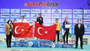Taekwondo sporcusu Göğebakan'a Paris Olimpiyatları göründü