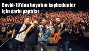 Covid-19'dan hayatını kaybeden Cemil Taşçıoğlu için şarkı söyledi (VİDEO)