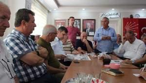 İREZ, CHP MECLİS GRUBUNA ÇALIŞMALAR HAKKINDA BİLGİ VERDİ