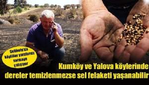 Gelibolu'yu yangından sonra ikinci tehlike bekliyor! (VİDEO)