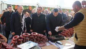 Çan'da yöresel ürünler festivali