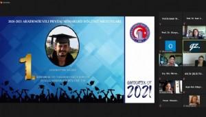 ÇOMÜ Mimarlık ve Tasarım Fakültesi Mezuniyet Töreni çevrimiçi düzenlendi