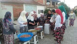 Danişment Köyü Kadınlarının İftar Yemeği