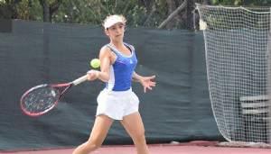 Çanakkale, Nisa Bulut ile teniste tarih yazıyor