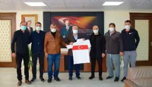 Türkiye Futbol Antrenörleri Derneğinden Başkan Yılmaz'a ziyaret