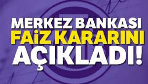 Merkez Bankası faizleri indirdi !