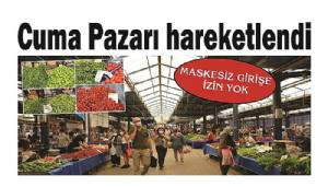 Cuma Pazarı hareketlendi