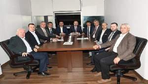Turan, Belediye başkanları ile birlikte toplantı yaptı