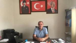 CHP İlçe başkanı görevden alındı