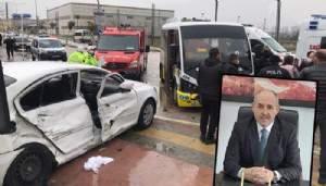ÇanakkaleOrman Bölge Müdürü Bursa'da kaza yaptı!