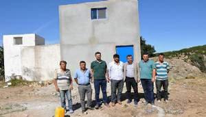 Bir çok köye yeni su deposu yapıldı