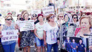 CHP'li kadınlar Ayşegül Terzi'nin yanında