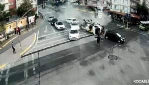 Mobese kameralarına yansıyan kazalar, 'bu kadar da olmaz' dedirtti (VİDEO)