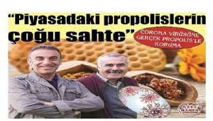 CORONA VİRÜSÜNE GERÇEK PROPOLİS'LE KORUMA