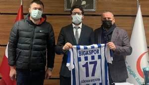 Bigaspor Kulübünden Başhekim Baştürk'e Ziyaret
