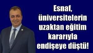 Esnaf, üniversitelerin uzaktan eğitim kararıyla endişeye düştü!