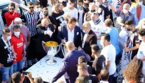 Boğazın ortasında Beşiktaş'ın şampiyonluk kutlaması