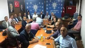 AK PARTİ İLÇE YÖNETİM KURULU TOPLANTISI YAPILDI