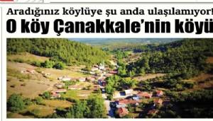 Aradığınız köylüye şu anda ulaşılamıyor!O köy Çanakkale'nin köyü