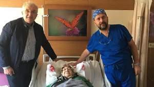 ÇOMÜ'de anestezi verilmeden endoskopik omurga ameliyatı