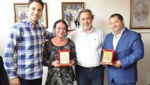 AK Parti'den Boğaz Medya'ya teşekkür plaketi