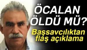 Bursa Cumhuriyet Başsavcılığından terörist başı Öcalan açıklaması