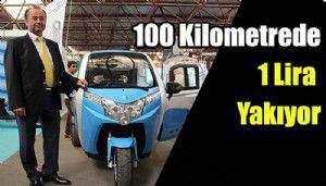 100 Kilometrede 1 Lira Yakıyor