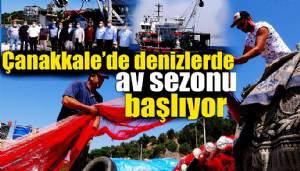 Balıkçılar 'Vira Bismillah' diyerek denizlere açıldı (VİDEO)