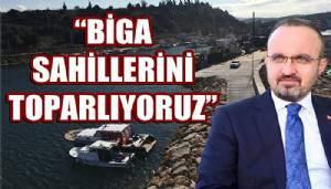 Ak Parti'li Turan'dan Biga sahil düzenlemesi açıklaması