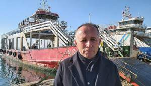 Çanakkale Boğazındaki kazada feribot sahibi konuştu (VİDEO)