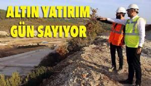 Altınzeybek-2 göleti su tutmaya hazır (VİDEO)