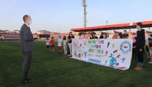 Amatör Spor Haftası'nda antrenman ziyaretleri
