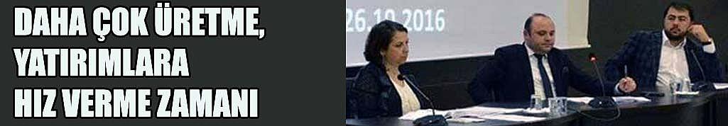 ÇTSO Meclisi toplandı...
